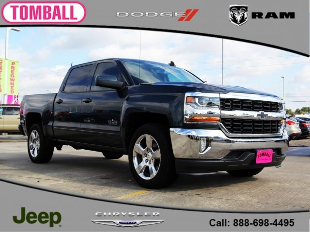 Pre Owned 2017 Chevrolet Silverado 1500 Lt 4d Crew Cab In Tomball